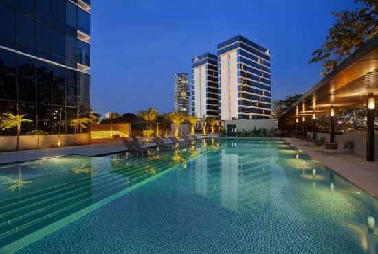 ramada-singapore-pool-evening